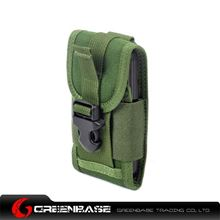 Picture of CORDURA FABRIC Phone Pouch Holder Green GB10013