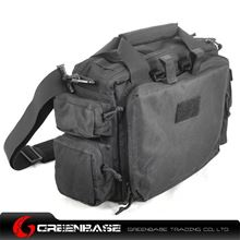 Picture of CORDURA FABRIC Tactical Computer Bag Black GB10019