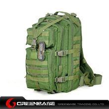 图片 CORDURA FABRIC Tactical Backpack Green GB10026