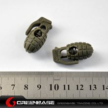 Picture of Mini Dummy Grenade Clamp 2pcs/Pack Green GB10041