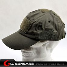 Picture of CAP0053 TMC Navy Seal Combat Velcro Cap Green GB10058