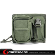 Picture of CORDURA Fabric MOLLE Modular 2 Pouch Ranger Green GB10089