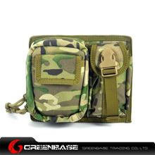 Picture of CORDURA Fabric MOLLE Modular 2 Pouch Multicam GB10091