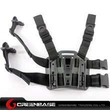 Picture of GB CQC Leg Plateform for attach the holster Black NGA0559