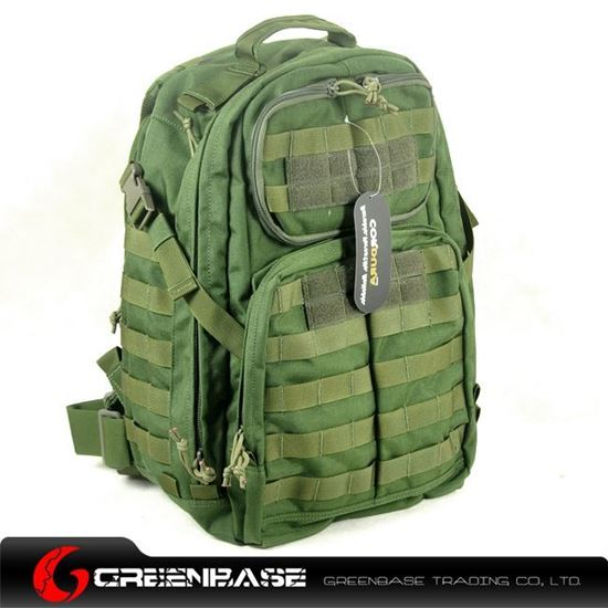 Picture of CORDURA FABRIC Tactical Backpack Green GB10130