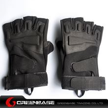 Picture of GB BH half finger Gloves Black-L size NGA0804