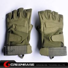 Picture of GB BH half finger Gloves Green-XL size NGA0811