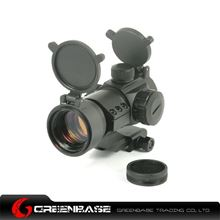 Picture of Tactical 1X32 Scope 5 MOA Red Dot Rifle Scope with Cantilever 20mm Weaver Rail Mount NGA0259