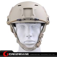 Picture of  NH 01003-DE FAST Helmet-BJ TYPE Dark Earth GB20030