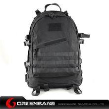 图片 900D 3D Field Outdoor Tactical  Rucksack Backpack Bag Black GB10165