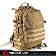 图片 900D 3D Field Outdoor Tactical  Rucksack Backpack Bag Khaki GB10166