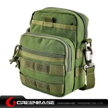 图片 9099# outdoor single shoulder bag Green GB10264