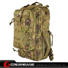 图片 8265# Tactical Backpack Green Camouflage GB10331