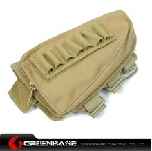 Picture of NB Rifle Stock Pouch Dark Earth BTA0111
