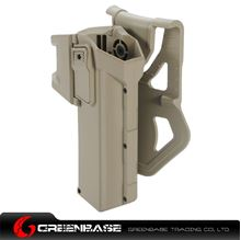 Picture of NB Movable Holsters for Glock series Dark Earth NGA1055