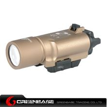 Picture of NB Tactical Flashlight X300 LED Weapon Light For Rifle scope For Pistol For Hunting Dark Earth NGA1003