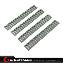 Picture of Ladder 18 Slots Low Profile Rail Covers 4pcs/pack Foliage Green NGA0086
