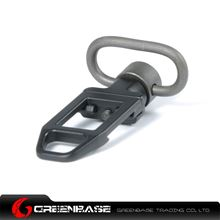 Picture of Unmark Full Steel Low Profile QD Rail Sling Adapter Black NGA0126