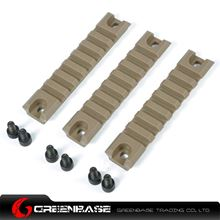 Picture of Polymer Rail Sections for G36/G36C Dark Earth NGA0378