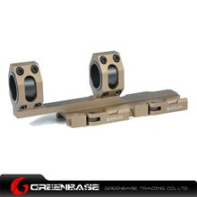 Picture of Tactical Top Rail extend 25.4mm-30mm Ring Mount Dark Earth NGA0934