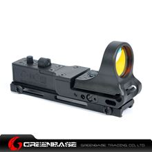 Picture of GB Tactical Railway Reflex Sight Red Dot For 20 Rail Black NGA1236