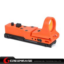 Picture of GB Tactical Railway Reflex Sight Red Dot For 20 Rail Orange NGA1239