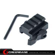 Picture of NB KC07 40mm QD Quick Detach Picatinny/Weaver Compact Lever Lock Adaptor Riser Rail Black NGA1117