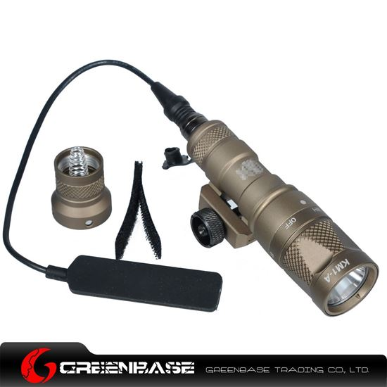 Picture of GB M300V-IR Scout Light LED WeaponLight White and IR Output Dark Earth NGA1283