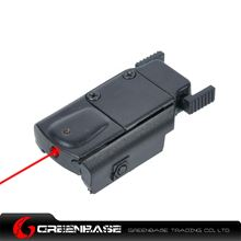 Picture of NB Ultrathin Compact Pistol Red Laser Sight Plastic Black NGA1305