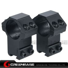 Picture of High Profile Scope Mounts 1 inch Rings for 11mm Dovetail Rail NGA0185