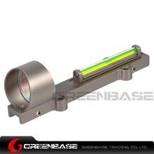 Picture of NB 1X28 Collimeter Sight Optic Fiber Green Circle Dot Sight For Shotgun Dark Earth NGA1350