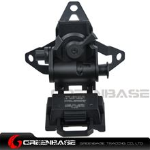 Picture of GB L4 G30 Helmet Mount Adjustable Height Lightweight Black NGA1353