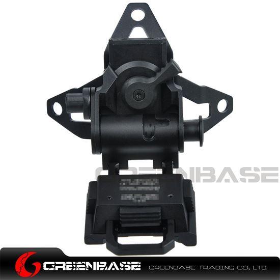 Picture of GB L4 G30 Helmet Mount Adjustable Height Lightweight Black NGA1353