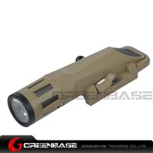 Picture of NB WML Tactical Illuminator Constant Momentary and Storbe 3 Modes Long Version Dark Earth NGA1381