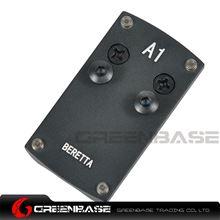 Picture of NB Mini Red Dot Sight Mounting Plate For Beretta Pistol Black NGA1388