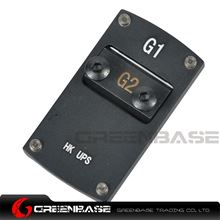 Picture of NB Mini Red Dot Sight Mounting Plate For HK USP Black NGA1394