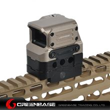 Picture of NB Tactial FC1 Red Dot Sight 2 MOA Reflex Sight 1x Holographic Sight For 20mm Rail Dark Earth NGA1396
