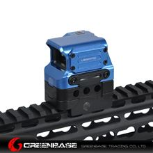 Picture of GB Tactial FC1 Red Dot Sight 2 MOA Reflex Sight 1x Holographic Sight For 20mm Rail Blue NGA1414
