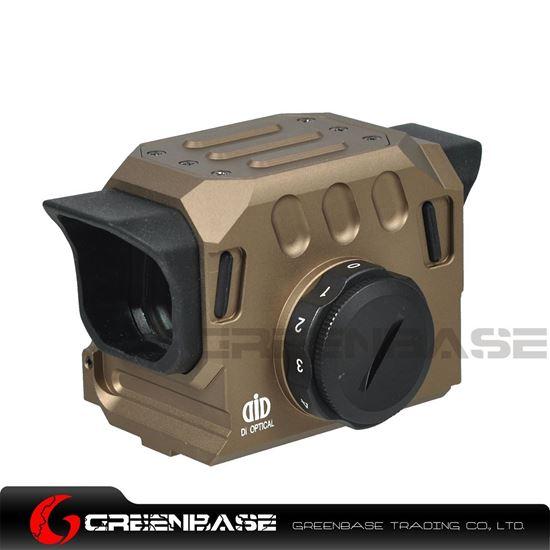 Picture of GB EG1 Optical Red Dot Sight Scope 20mm Rail Hunting Scopes Dark Earth NGA1475