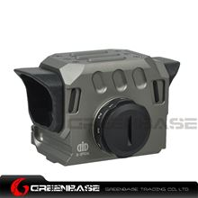 Picture of GB EG1 Optical Red Dot Sight Scope 20mm Rail Hunting Scopes Grey NGA1476