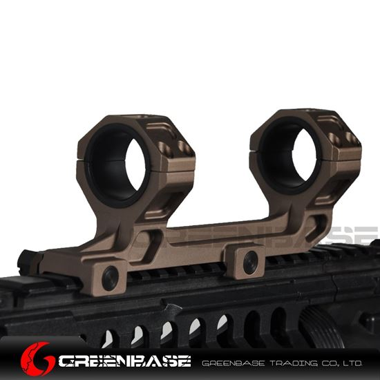 Picture of NB GE Scope Mount 25.4mm/30mm Scope Ring Mount Short Version Gold Brown NGA1547